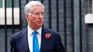 UK Defense Secretary Michael Fallon resigns