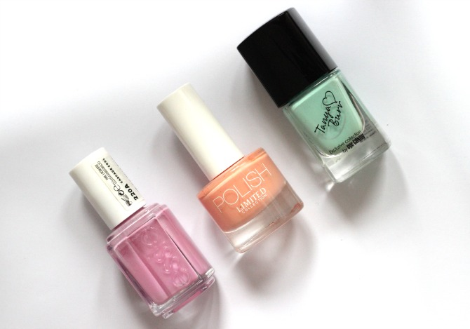 Top 3 nail polishes for Summer