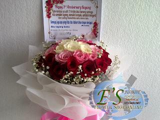bunga tangan mawar mix