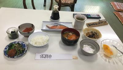 矢指ヶ浦温泉館の朝食