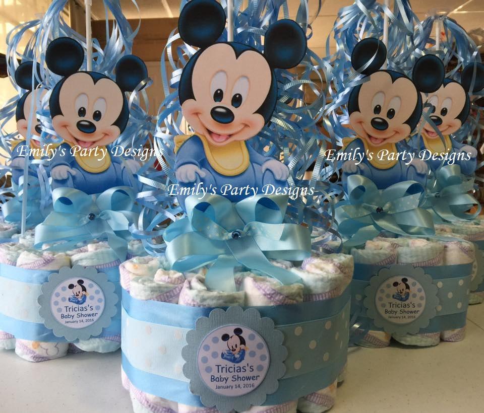 Arreglos Baby Mouse Shower De Minnie Para