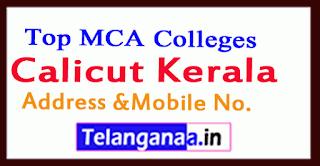 Top MCA Colleges in Calicut Kerala