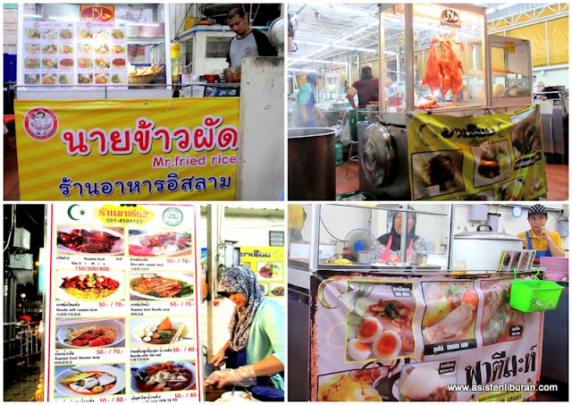 Makanan kuliner khas Thailand di bangkok