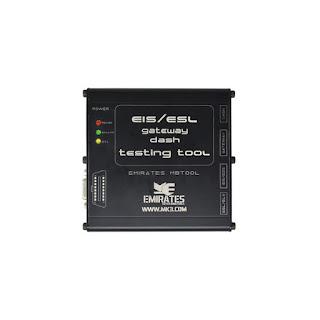 EIS/ESL gateway dash testing tool