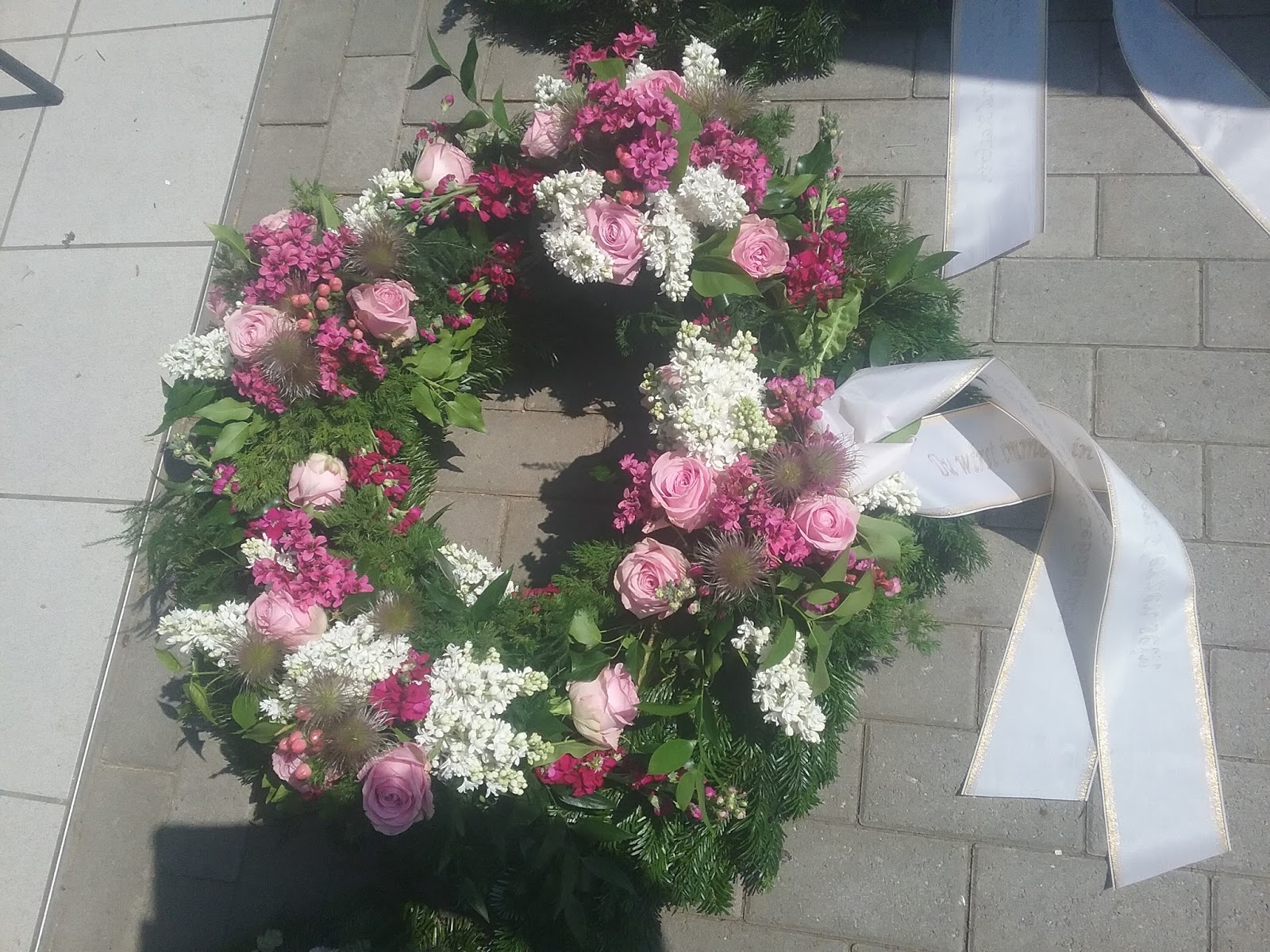 BltenzauberEgenhausen Blumen fr Beerdigung