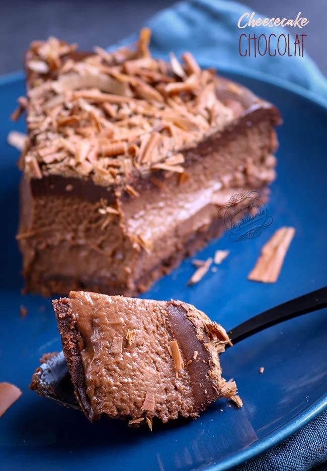 cheesecake chocolat avec philadelphia