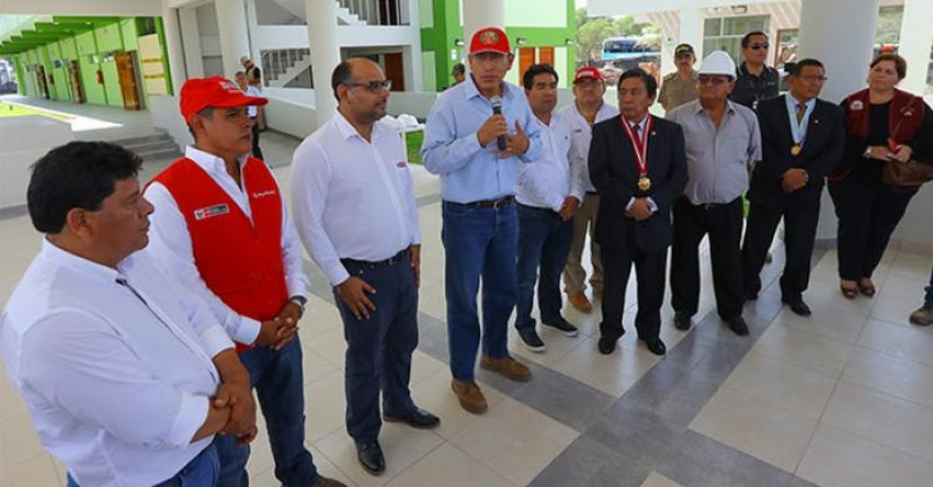 MINEDU: El Gobierno trabaja para fortalecer la educación en todos los niveles, afirma presidente Vizcarra - www.minedu.gob.pe