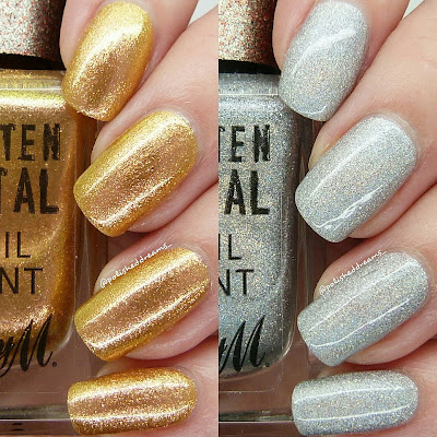 Barry M Gold Rush and Holographic Lights