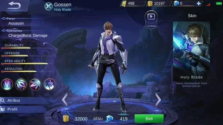 Gossen Mobile Legends, Hero Yang Terlihat Mirip Seperti Tokoh Berikut
