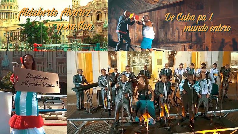 Adalberto Álvarez y su Son - ¨De Cuba pa´l mundo entero¨ - Videoclip - Dirección: Alejandro Valera. Portal Del Vídeo Clip Cubano - 01