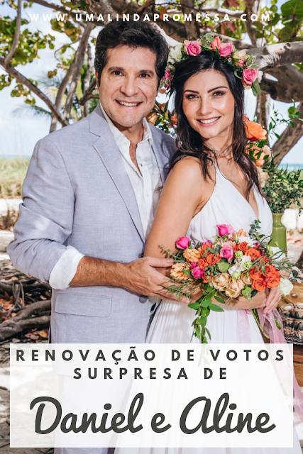 Renovação de votos casamento do cantor Daniel