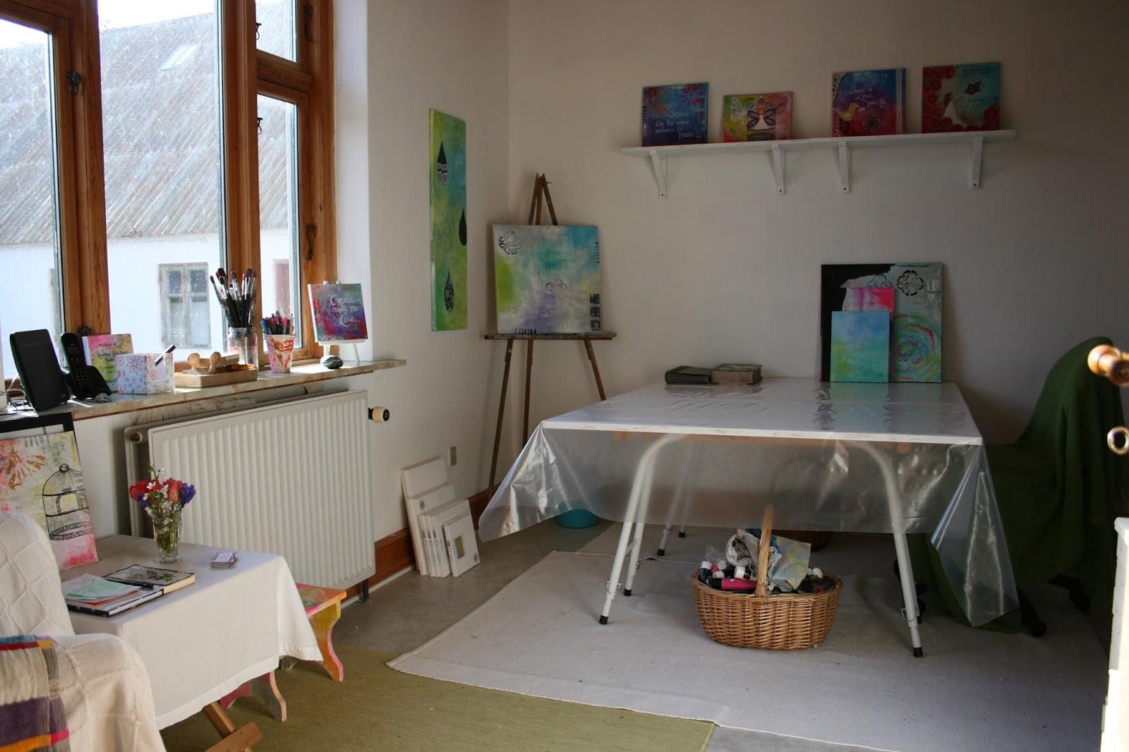 #644732 Dette års Gitte Barlev: Oprydning I Arbejdsrum Og En Gør Det Selv Galleri Reol : ) Gør Det Selv Reol Mdf 5971 160010665971