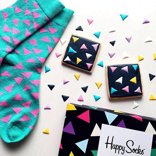 Happy Socks street style con calcetines