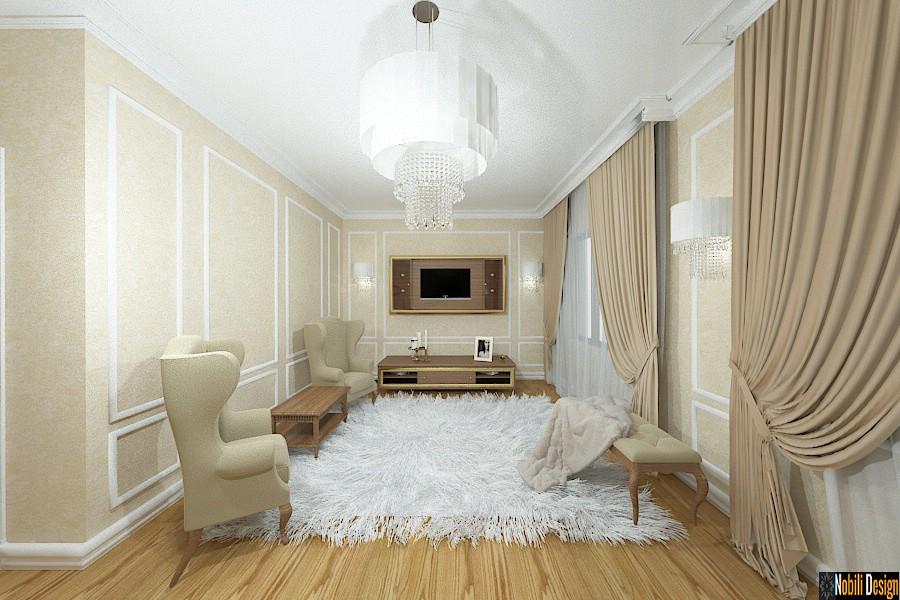 Nobili Design | Amenajare interioara dormitor casa in Braila | Birou arhitectura de interior Braila