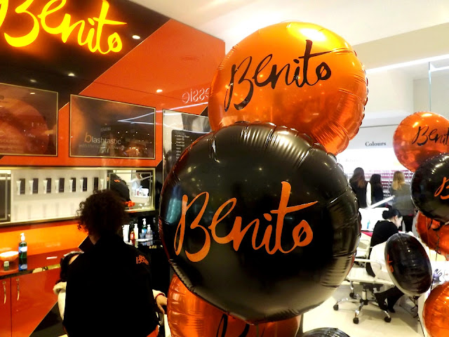 BENITO BROW BAR - SHARE THE WOW!  BALLOONS.