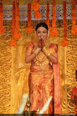 Malayalam actress Radhika wedding