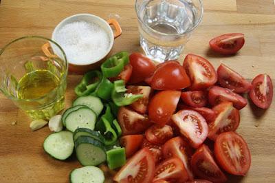 cus cus de gazpacho ingredientes