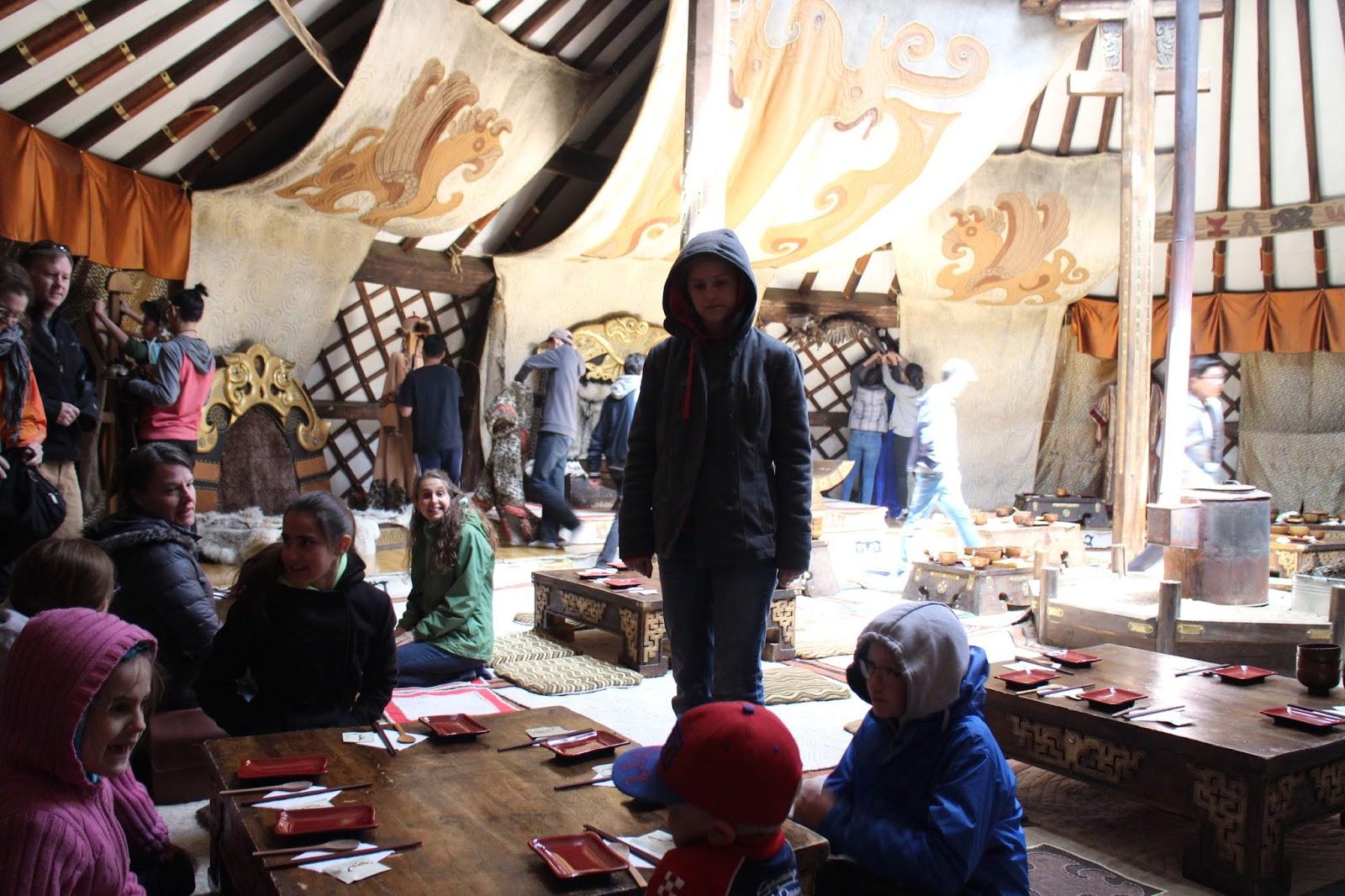 teacher miss k about 2 hours outside ulan bator toward hentii province