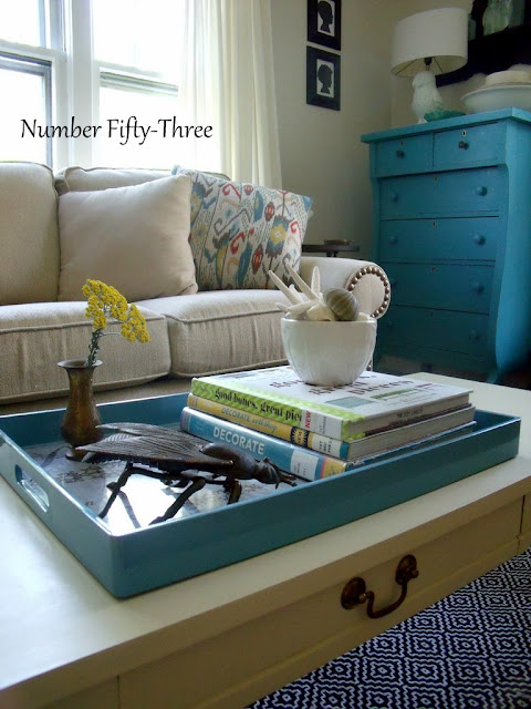 Number Fifty Three Summer Living Room Tour