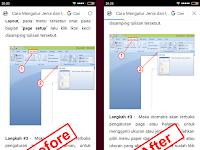 Cara Membuat Gambar Postingan Blog Responsive Mobile