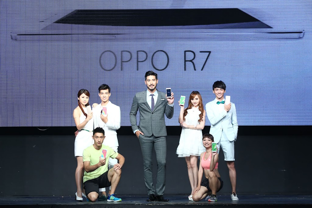 中國手機品牌再一發!OPPO R7 登場,力拼台灣前五大