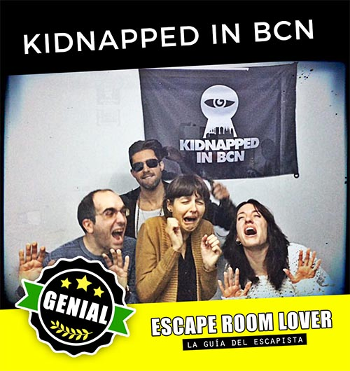Kidnapped in BCN - Escape Room - Opiniones