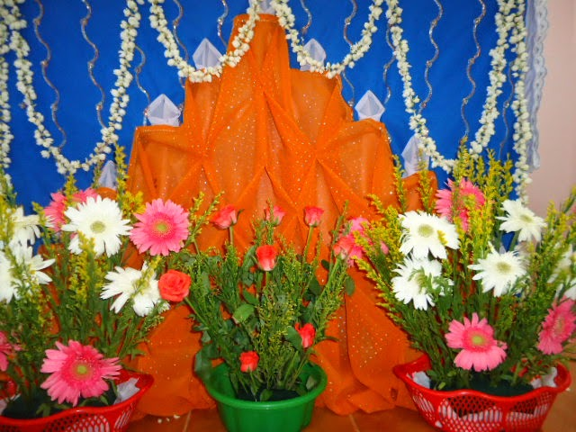 Komanvilai Feast Altar Decoration