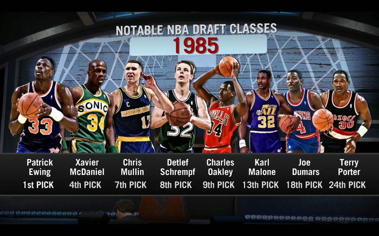 DAR Sports: Top 5 NBA Draft Classes