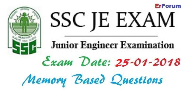 ssc-je-exam-2018