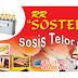 download Desain grafis spanduk sosis telor gratis format CDR