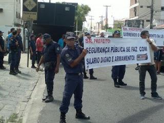 Guarda Civil Municipal reivindica diálogo com a prefeitura de João Pessoa (PB)
