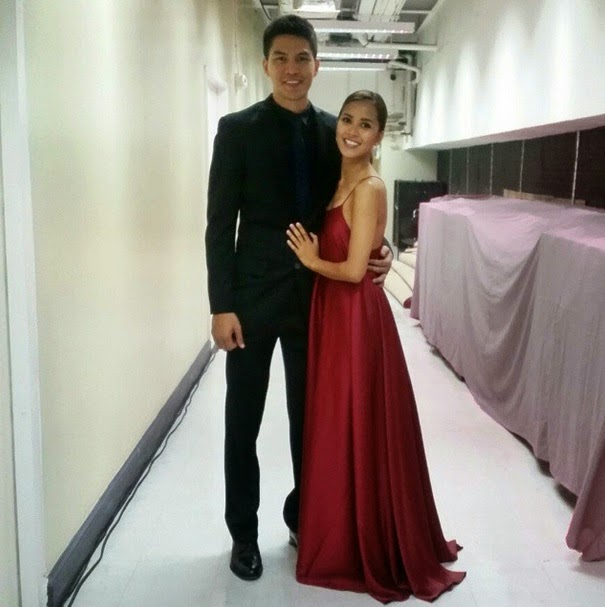 JC Intal and wife Bianca Gonzalez