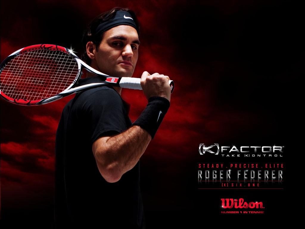 Sport Wallpaper: Plays Sports: Roger Federer Wallpaper 2010