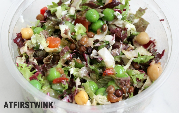 HEMA lentil salad mixed up