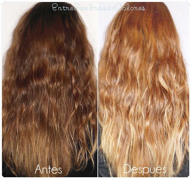 Resultados cabello Casting Sunkiss Jelly de L'Oréal