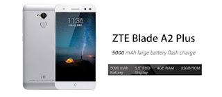ZTE ने भारत में अपना नया स्मार्टफोन Blade A2 Plus भारत में आज लॉन्च किया है जिसकी कीमत 11,999 रुपये है. 6 फरवरी से इस स्मार्टफोन को एक्सक्लूसिव तौर पर फ्लिपकार्ट से खरीदा जा सकेगा.