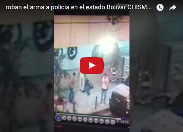 Así mataron al escolta del gobernador de Bolivar