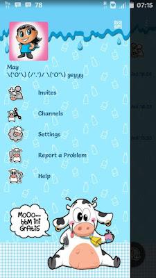 BBM Mod MoOo Tema Cute Based V2.13.1.14