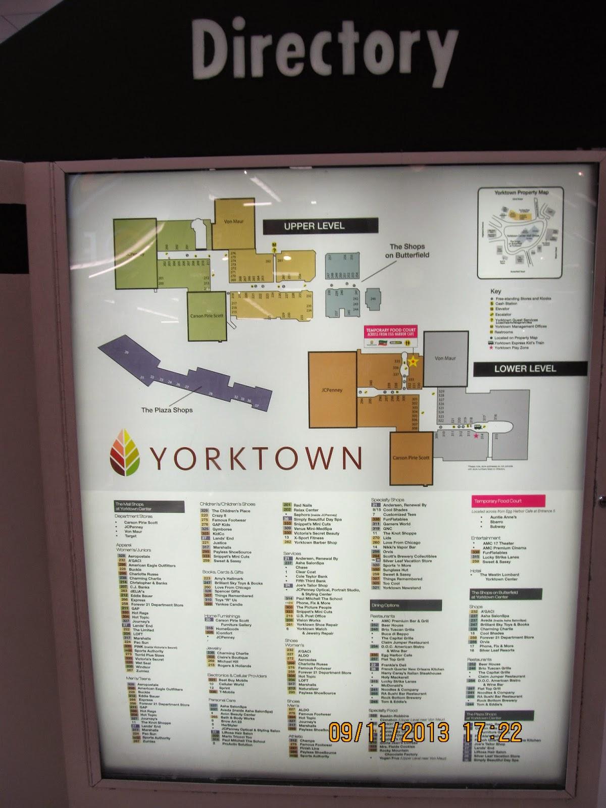 Yorktown Mall Stores : yorktown, stores, Mall:, Yorktown, Center-, (Lombard,