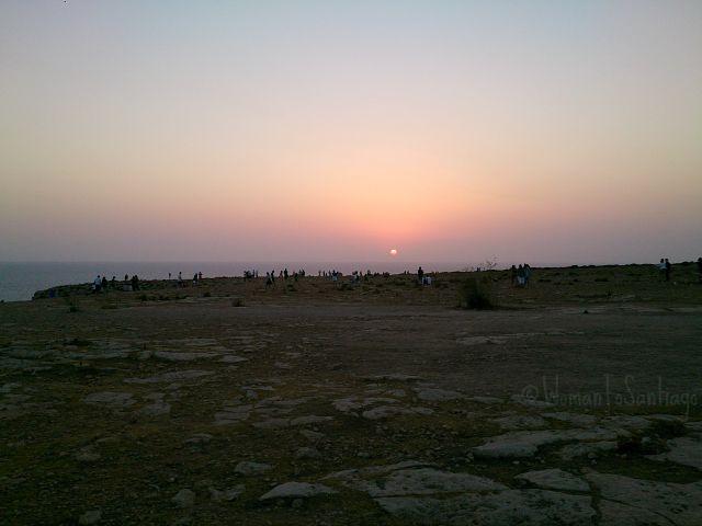 foto sunset barbaria