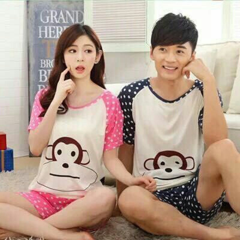 Jual Online CS Monkey Polka Murah Jakarta Bahan Spandex Korea Terbaru