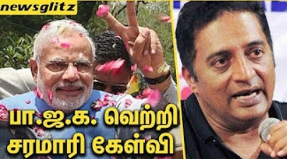 "Actor Prakash Raj Questions Narendra Modi | Mission ""150"""