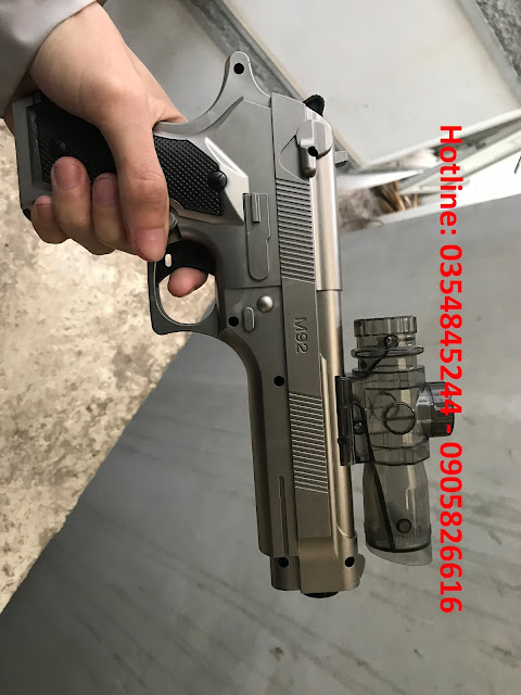 Súng lục bắn đạn thạch liên thanh M92_2