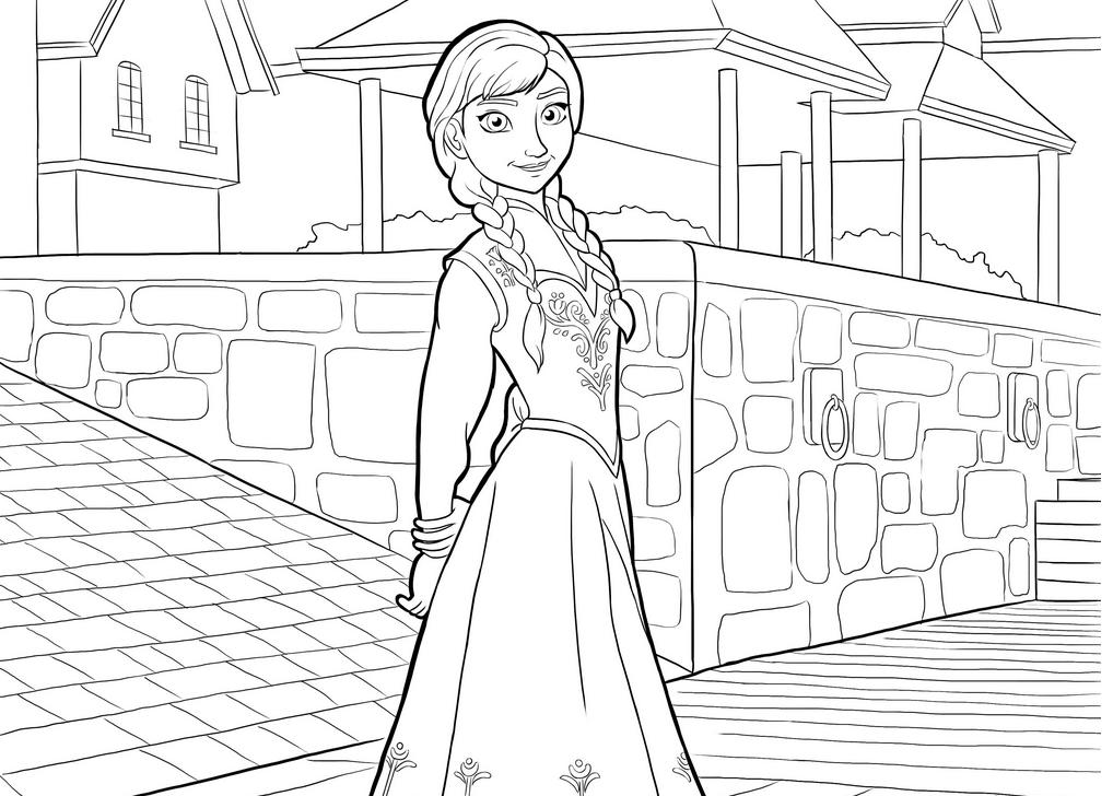 Jogo Desenhos De Frozen Uma Aventura Congelante Para Colorir
