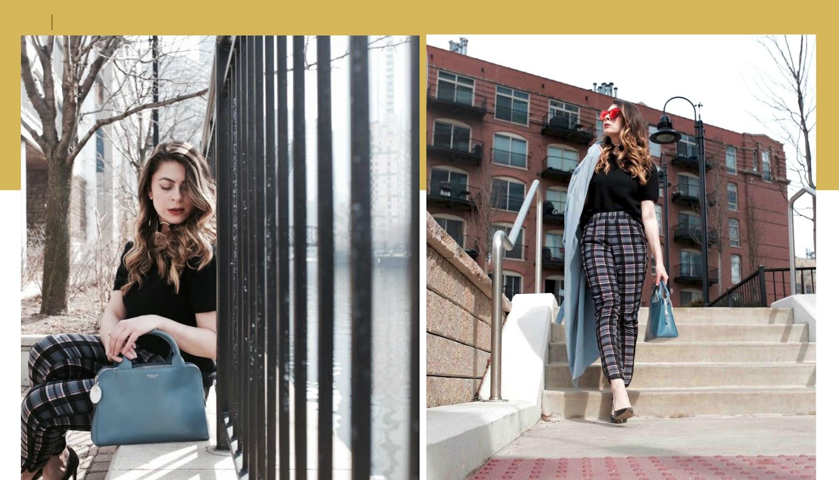 MEDIUM ZIPTOP SATCHEL, Millbank satchel from Radley London, Chicago riverwalk, Chicago fashion blogger, Fashionlingual, Desirée Velásquez, Latina fashion blogger, Chicago style blogger, Chicago blogger, bloguera de moda, River North Chicago,