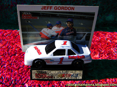 Jeff Gordon #1 Baby Ruth Racing Champions 1/64 NASCAR diecast blog BGN