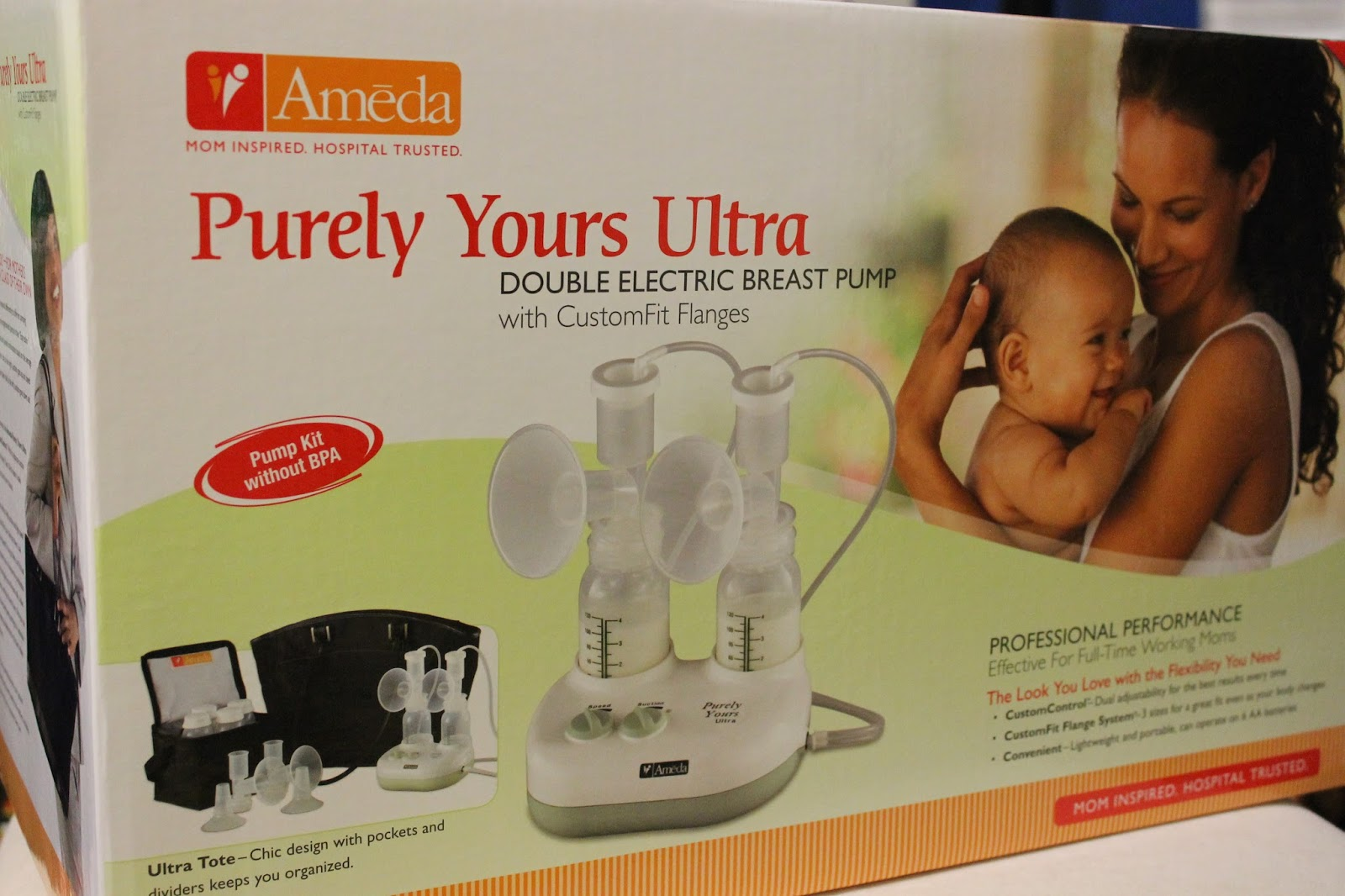 Dealy Os Product Reviews: Ameda Purely Yours Ultra Breast Pump Review