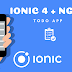 How to use ngrx/store with Ionic 4