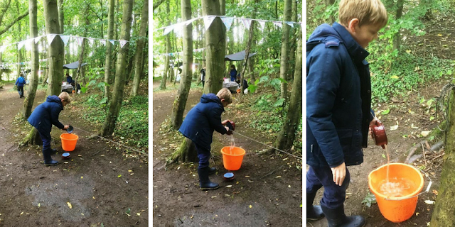 Getting Outdoors in Northumberland with Footprints on the Moon at Plessey Woods