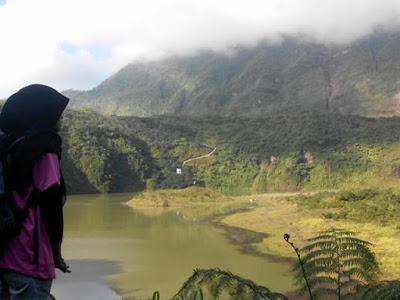 gunung galunggung, wisata gunung galunggung
